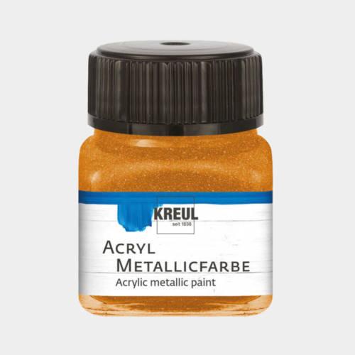 Ludibrium-KREUL - Acryl Metallicfarbe Goldbronce 20 ml