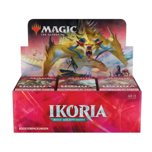 Ludibrium-Magic the Gathering - Ikoria: Reich der Behemoths Booster - Deutsch