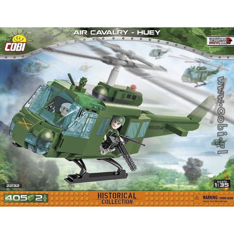 Cobi 2232-Cobi 2232 - Bell Huey Air Cavalry - Klemmbausteine