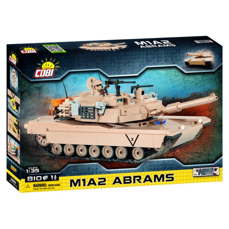 Ludibrium-Cobi 2619 - Panzer M1A2 Abrams - Klemmbausteine