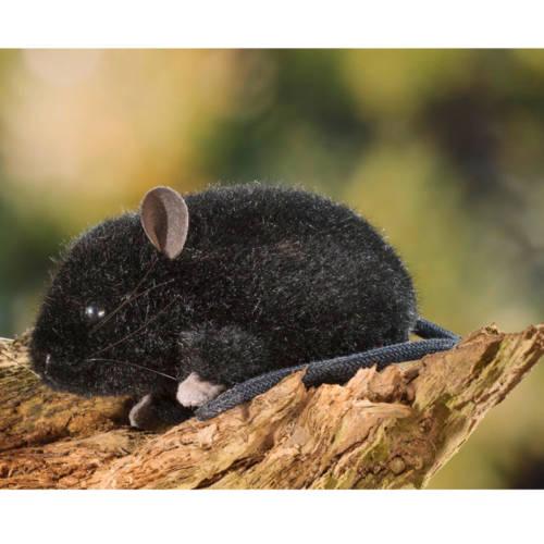Ludibrium-Kösen-Maus schwarz
