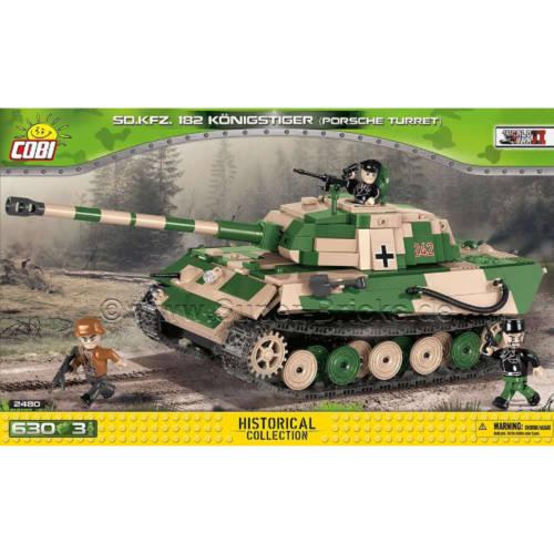 Ludibrium-Cobi 2480A - Panzer 182 Königstiger - Klemmbausteine