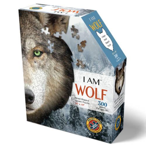 Ludibrium-Madd Capp Puzzle - Mini Wolf - 300 Teile