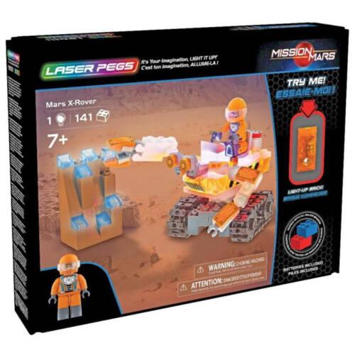 Ludibrium-Laser Pegs 19001 - Mars X-Rover - Klemmbausteine