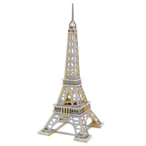 Ludibrium-Anek - Eiffelturm - 3D Puzzle aus Holz