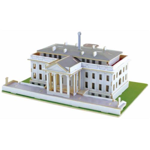Ludibrium-Anek - White House - 3D Puzzle aus Holz
