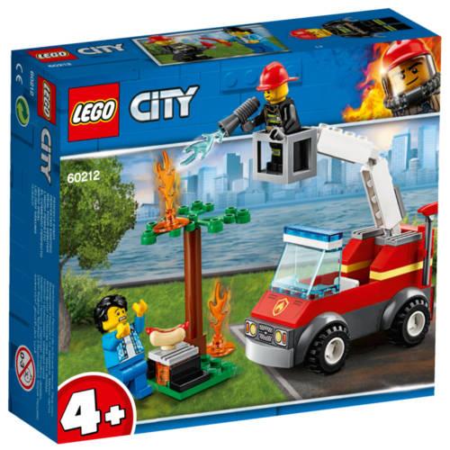 Ludibrium-Lego City 60212 - Feuerwehr beim Grillfest - Klemmbausteine