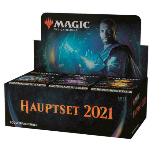 Ludibrium-Magic the Gathering - Hauptset 2021 Booster - Deutsch