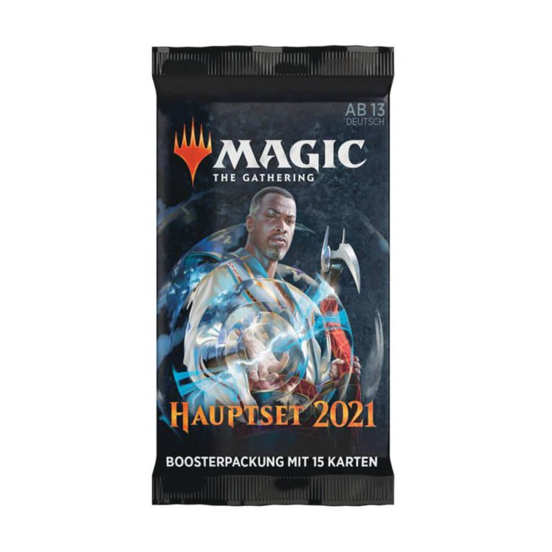 Ludibrium-Magic the Gathering - Hauptset 2021 Booster - Deutsch