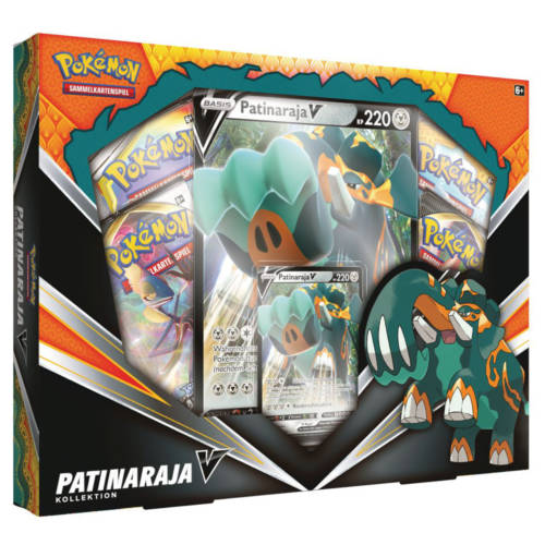 Ludibrium-Pokémon - Patinaraja-V Box - Deutsch