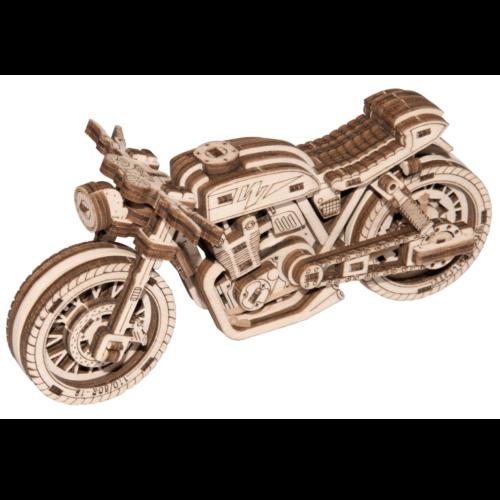 Ludibrium-Wooden.City - Сafé Racer WR340 (Motorrad) - Holzbausatz