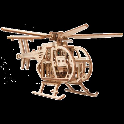 Ludibrium-Wooden.City - Helicopter WR344 - Holzbausatz