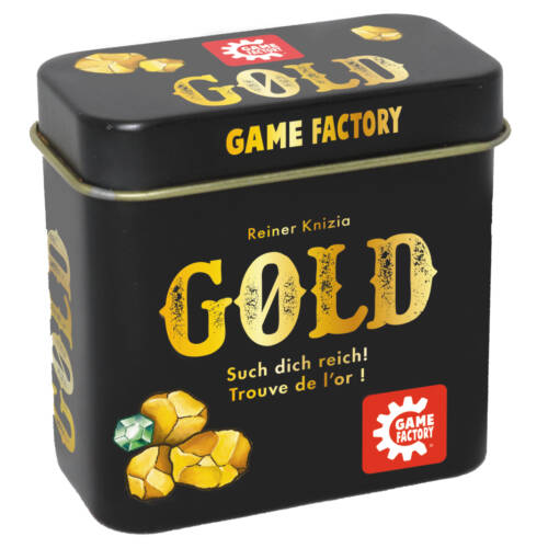 Ludibrium-Game Factory - Gold - pfiffiges Memospiel