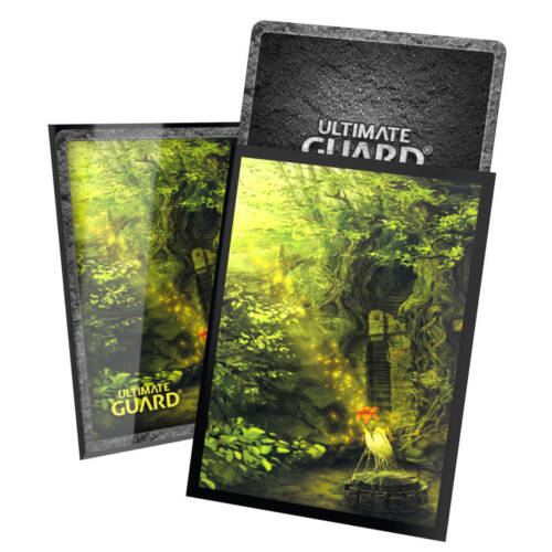 Ludibrium-Ultimate Guard - Printed Sleeves Standardgröße Lands Edition II Wald (100)