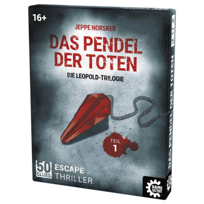 Ludibrium-Game Factory - 50 Clues - Das Pendel der Toten (d)- Leopold Trilogie Teil 1