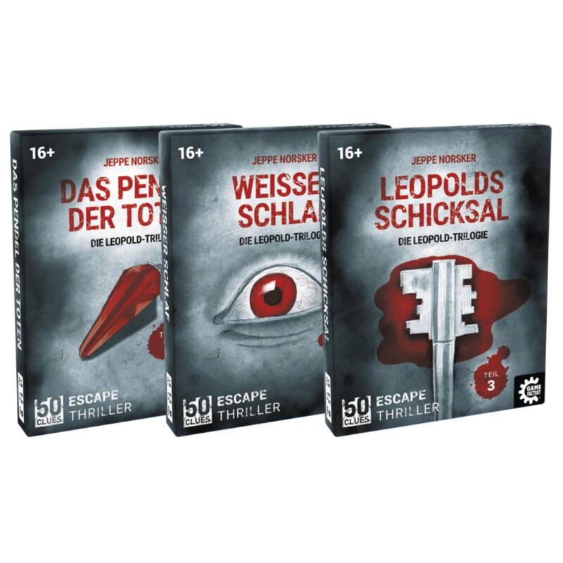 Ludibrium-Game Factory - 50 Clues - Das Pendel der Toten (d)