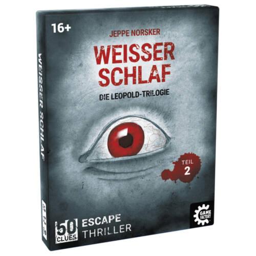 Ludibrium-Game Factory - 50 Clues - Weisser Schlaf (d) - Leopold Trilogie Teil 2
