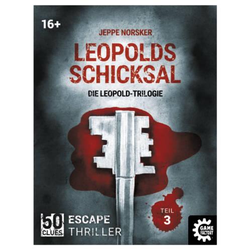 Ludibrium-Game Factory - 50 Clues - Leopolds Schicksal (d) - Leopold Trilogie Teil 3