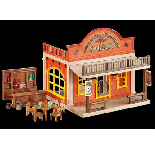 Ludibrium-Playmobil 6280 - Western Saloon