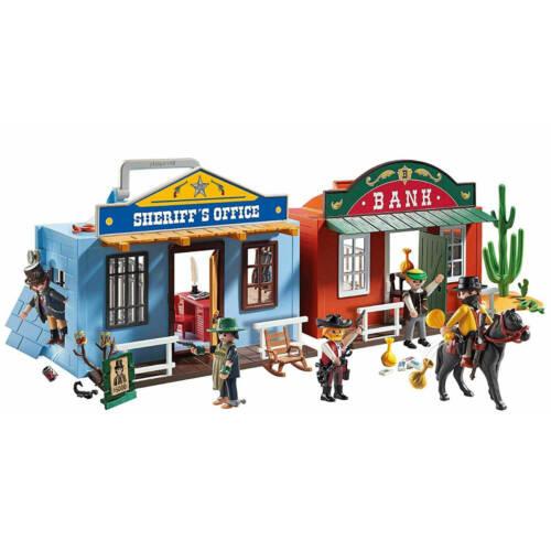 Ludibrium-Playmobil 70012 - Western City zum Mitnehmen