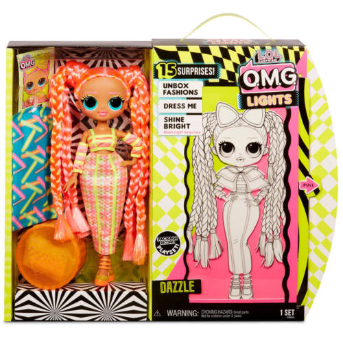 Ludibrium-MGA Entertainment - L.O.L. Surprise OMG Doll Neon Series - Dazzle - Modepop