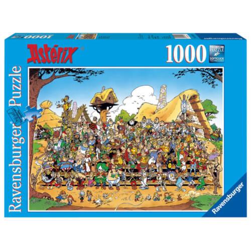 Ludibrium-Ravensburger - Asterix Puzzle Familienfoto - 1000 Teile