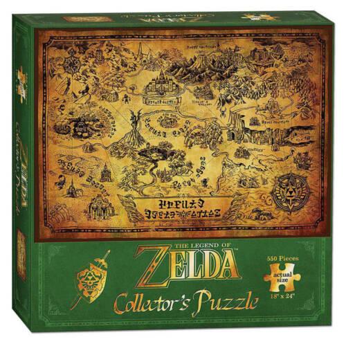 Ludibrium-Legend of Zelda - Puzzle Hyrule Map - 550 Teile