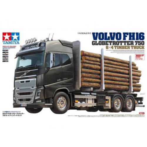 Tamiya - 1:14 RC Volvo FH16 Holztransporter