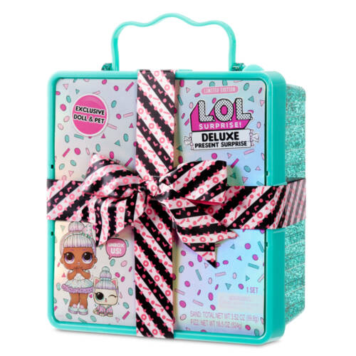 Ludibrium-MGA Entertainment - L.O.L. Deluxe Present Surprise - mintfarbene Box