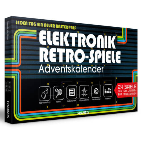Ludibrium-Franzis - Elektronik Retro Spiele - Adventskalender 2020