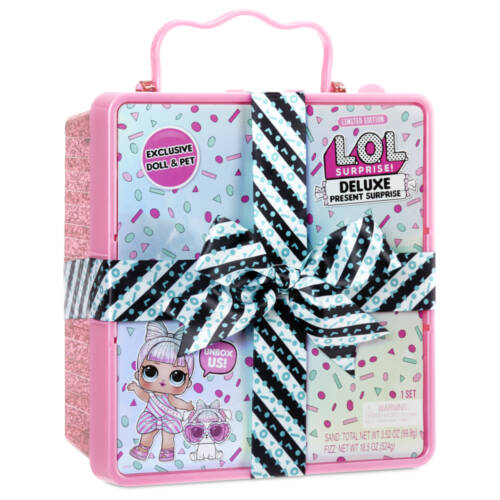Ludibrium-MGA Entertainment - L.O.L. Deluxe Present Surprise - rosa Box