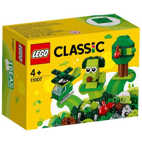 Ludibrium-LEGO Classic 11007 - Grünes Kreativ-Set Lernstarter-Set - Klemmbausteine