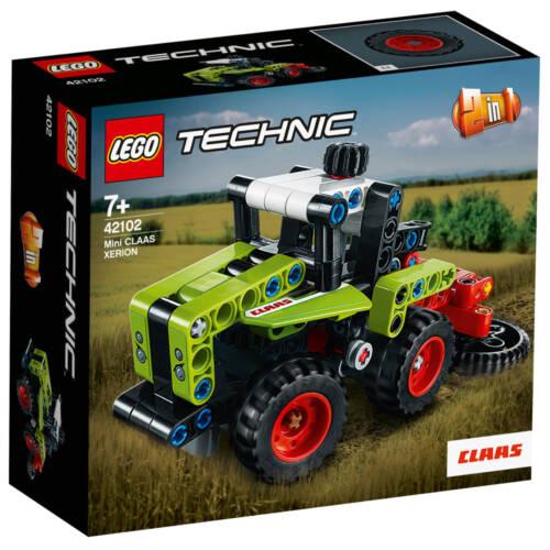 Ludibrium-LEGO® Technic 42102 - Mini Claas Xerion - Klemmbausteine