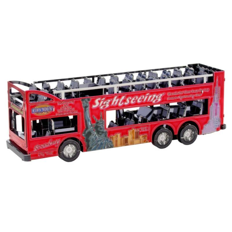 Ludibrium-Metal Earth - Big Apple Tour Bus - MMS169
