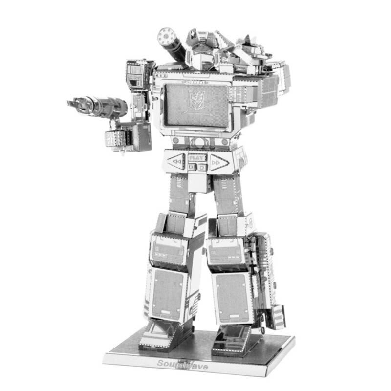 Ludibrium-Metal Earth - Transformers Soundwave - MMS302