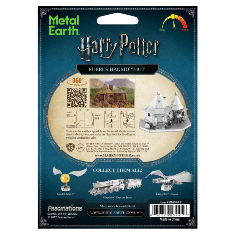 Ludibrium-Metal Earth: Harry Potter Hagrids Hut MMS441