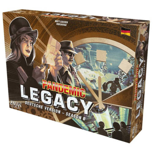 Ludibrium-Asmodee - Pandemic Legacy Season 0 - deutsch