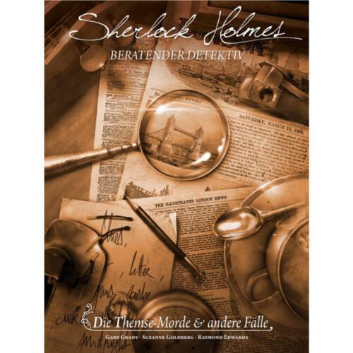 Ludibrium-Asmodee - Sherlock Holmes beratender Detektiv: die Themse Morde und andere Fälle - deutsch