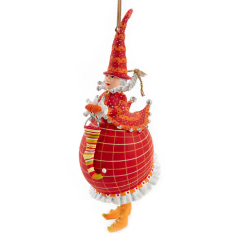 Ludibrium-Krinkles - Dash Away - Red Mrs. Santa Ornament