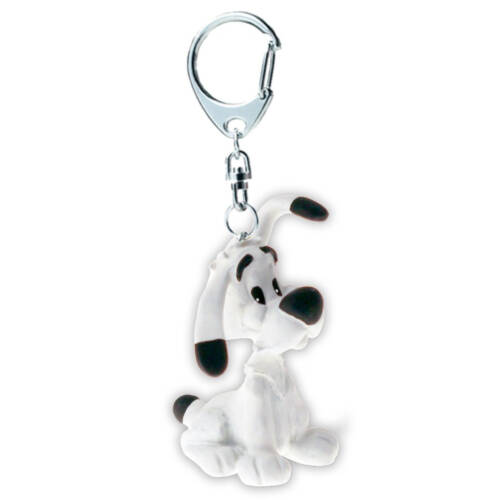 Ludibrium-Asterix und Obelix - Schlüsselanhänger Idefix sitzend, 4cm