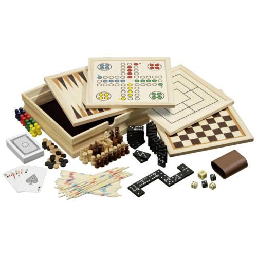 Ludibrium-Philos - Holz-Spielesammlung 10 - klein