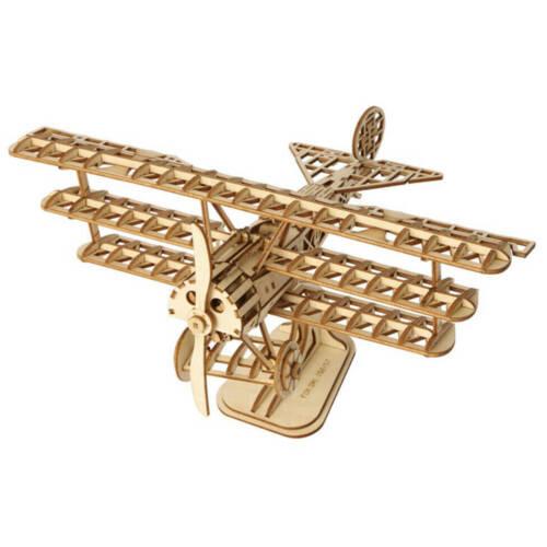 Ludibrium-Rolife - Flugzeug - 3D Holzpuzzle