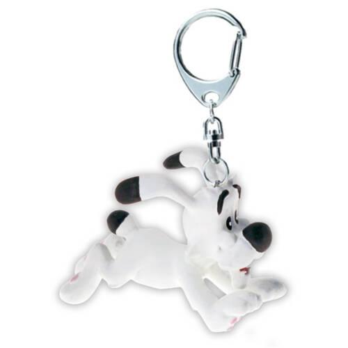Ludibrium-Asterix und Obelix - Schlüsselanhänger Idefix rennend, 4cm
