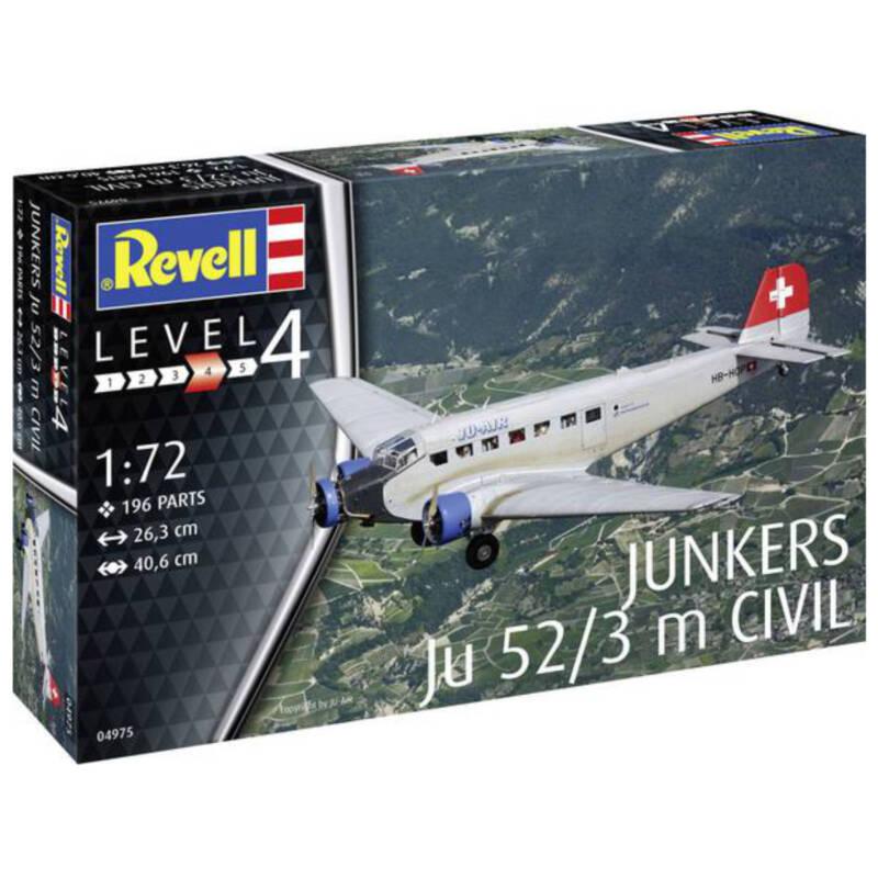 Ludibrium-Revell 04975 - Junkers Ju52/3m Civil 1:72