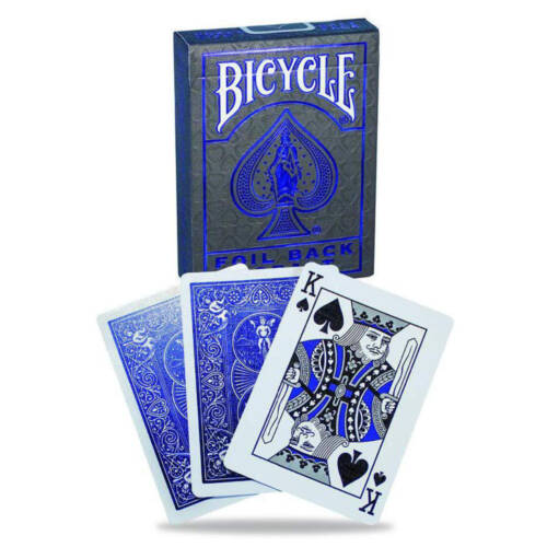 Ludibrium-Spielkarten Bicycle Metalluxe Blue