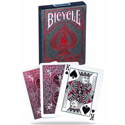 Ludibrium-Spielkarten Bicycle Metalluxe Red