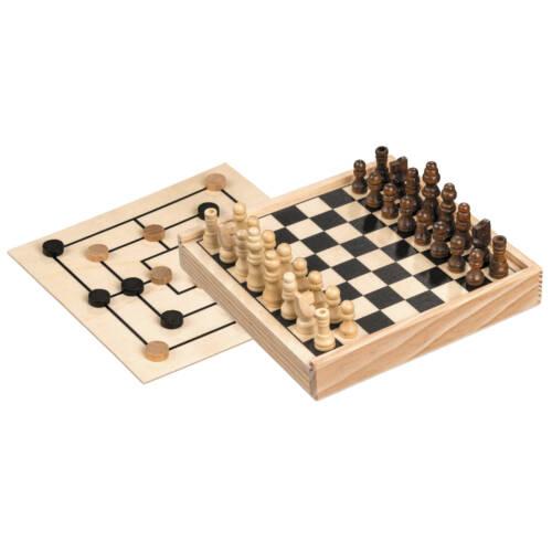 Ludibrium-Philos - Schach-Mühle-Kombination - mini