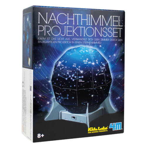 Ludibrium-4M KidzLabs - Bauset - Nachthimmel Projektionsset