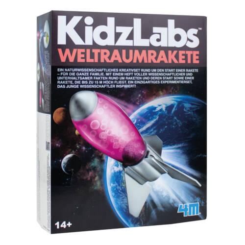 Ludibrium-4M KidzLabs - Experimentierkasten - Weltraumrakete