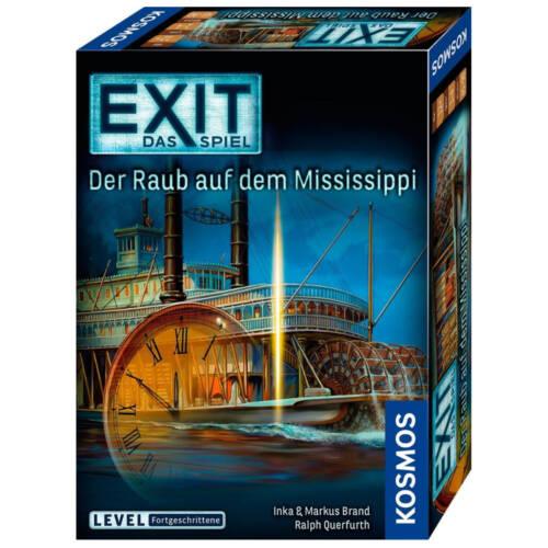 Ludibrium-Kosmos EXIT - Exit das Spiel - EXIT - Der Raub auf dem Mississippi